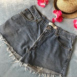 Levi's 550 Relaxed FIt Denim Cut off  Shorts